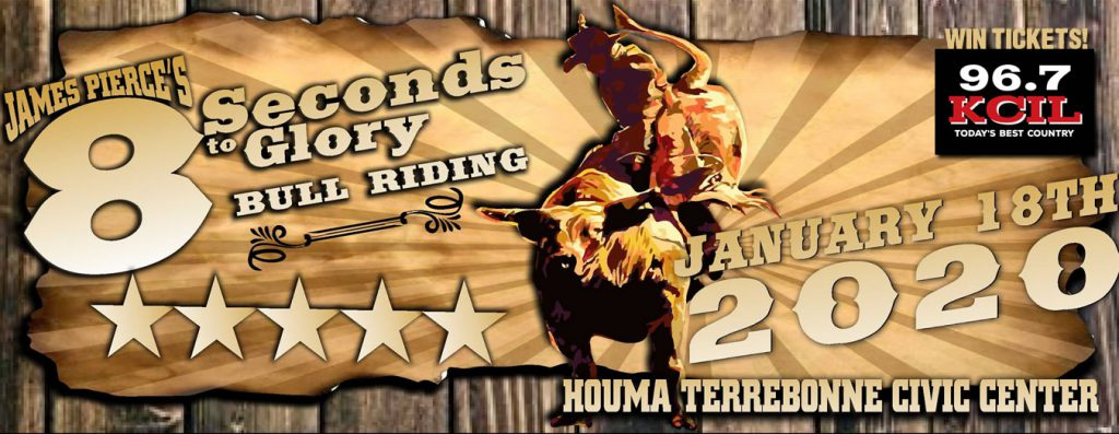 Bull Riding Houma Civic Center January 18